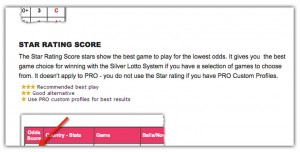 star rating score